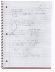 Pre Calculus Chapter 6 Notes
