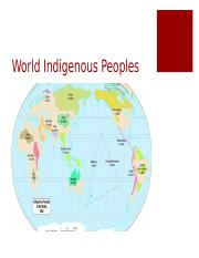 World Indigenous Peoples Oct 18 2016.ppt