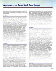 Answers to Selected Problems