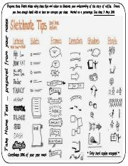 ESS 131 Take Home Test Prepare three Sketch Notes using these tips.pdf