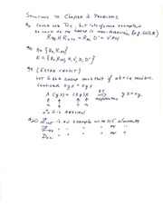 Math 411 Solutions to Chapter 2  Problems