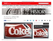 The Real Story of New Coke_ The Coca-Cola Company