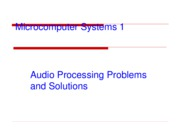 Ch10-Audio Processing Problems and Solutions