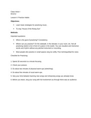 MUS 1471- Lesson 4 Typed Notes