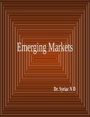 Emerging Markets.ppt