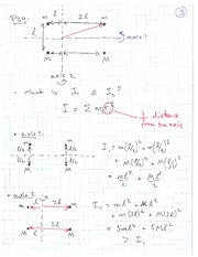 PHYS 1118 Fall 2010 Potter's Wheel Example Lecture Notes