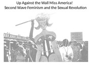 Feminism and Sexual REvolution Up Against the Wall Miss America! (2)