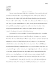 COmpare and Contrast essay - Copy