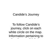 Candide's Journey Powerpoint