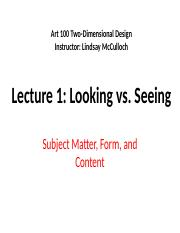 ART100_Lecture_1_Looking_vs_Seeing.pptx
