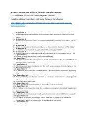 HIUS 222 content quiz 8 Liberty University coursehero answers.docx