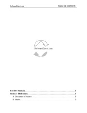 SoftwareDirect-title page and contents page_Essay