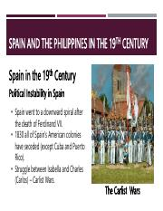 Spain and the Philippines in the 19th Century.pdf