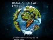 Biogeochemical Cycle Pres.