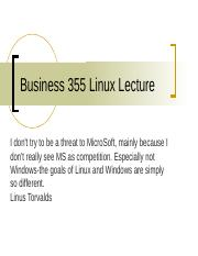 Business 355 Linux.ppt