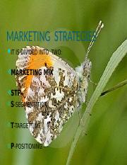 markeing strategy