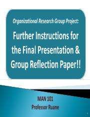 MAN 101 Group Project Prez & Reflection Paper Info.ppt