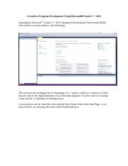 Using MS Visual C++ 2013.pdf