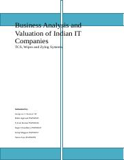 Business valuation report.docx