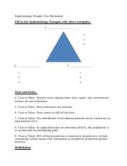 Epidemiology Chapter Two Worksheet.docx