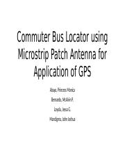 Microstrip-GPS-Patch-Antenna with matlab and cst.pptx