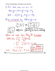Lecture 32 (Examples on Optimization)