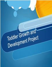 toddler presentation - Assignment
