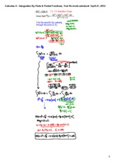 Integration_By_Parts_&_Partial_Fractions,_Test_Review