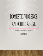 Domestic Violence and Child Abuse.pptx
