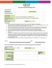 Assessment- BSBHRM505 Manage remuneration and employee benefits (1).doc