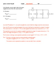 ECE35WIN09 Quiz 2 Solutions