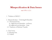 notes-misspecification