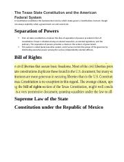 02_A Constitution establishes the fundamental rules by which states govern