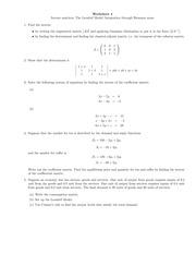 math for econ ii worksheet 4 worksheet 4 inverse matrices the leontief model integration. Black Bedroom Furniture Sets. Home Design Ideas