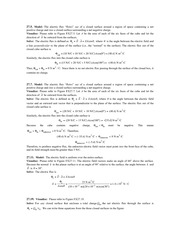 Ch27 Solutions: Gauss' Law