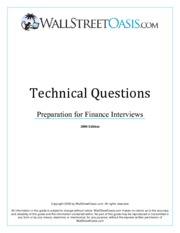 Wall_Street_Oasis_Technical_Interview_Guide