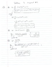 HW 4 - Solutions