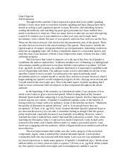 self evaluation essay on public speaking Speech self-critique essay a custom essay sample on speech self-critique for only $1638 $139/page the art of public speaking.