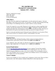 MG 438-MBA 638 Syllabus-SUMMER 2017-Online-1.docx