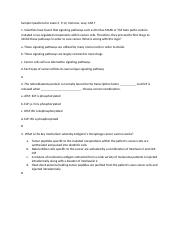 Questions review Exam 3 ch 9-12 Immuno, Levy, CAR T.docx