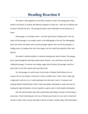 Reading Reaction 8: Zionism