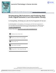 perpetuating old exclusions and producing new ones digital exclusion in an Information Society.pdf