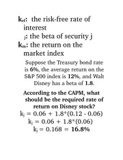 Risk-free rate of interest