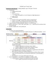 BCHM Exam 3 Study Guide