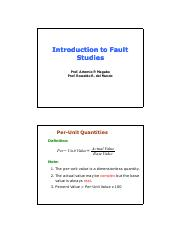 Lecture 1 Introduction to Fault Studies.pdf