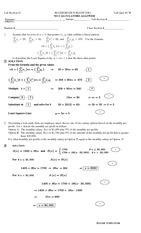MATH 1080 Lab Quiz 1 Solutions