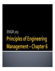ENGR 203 Chapter 6 2015