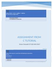 c tutorial assignment.docx