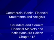 CHP12 Intro to Financial Statements