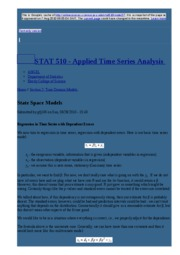 node27 State Space Models   STAT 510 - Applied Time Series Analysis